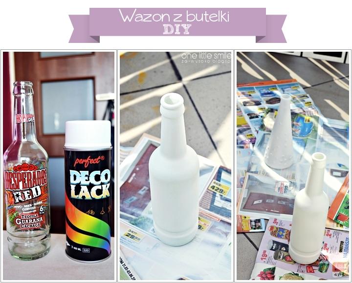 DIY: Wazon z butelki