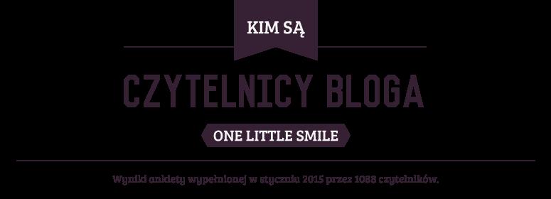 Kim są czytelnicy One Little Smile? Wyniki ankiety