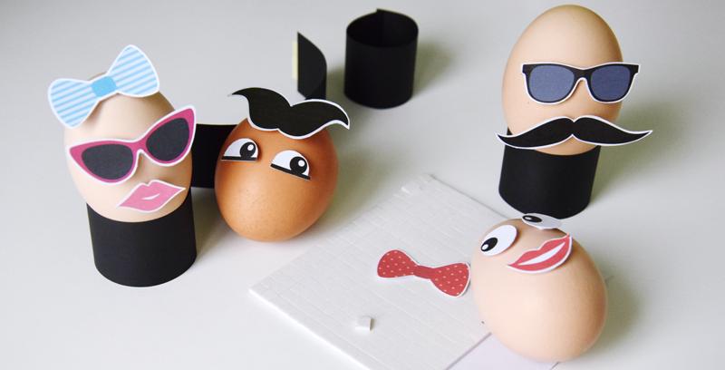 Szybkie dekorowanie jajek wielkanoc