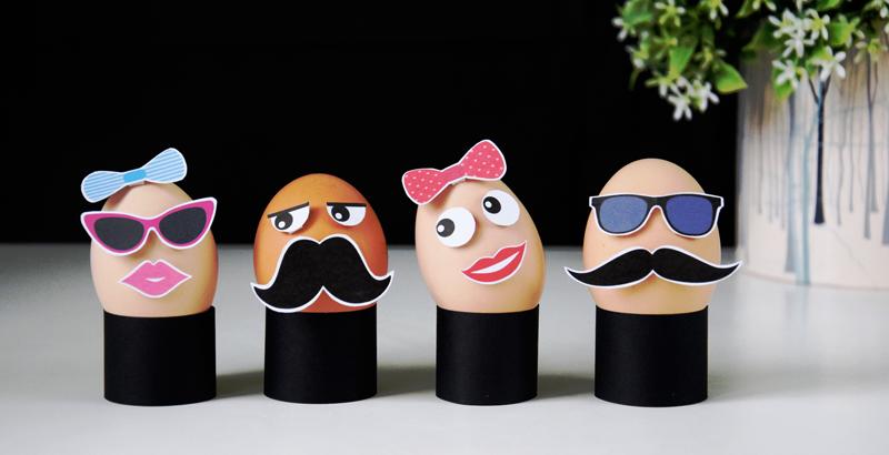 DIY: Hipsterskie jajka wielkanocne