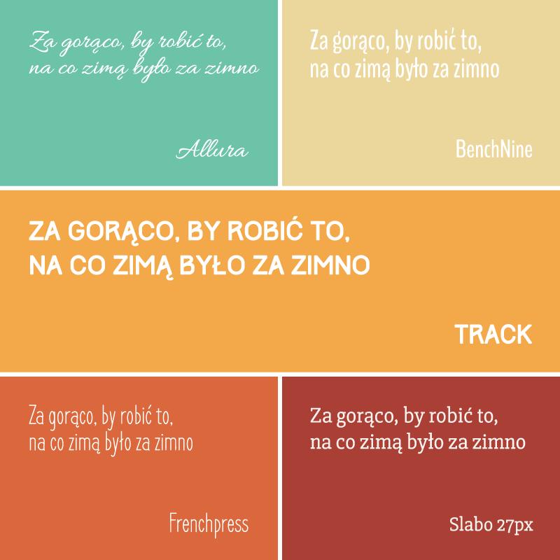 darmowe czcionki z polskimi znakami