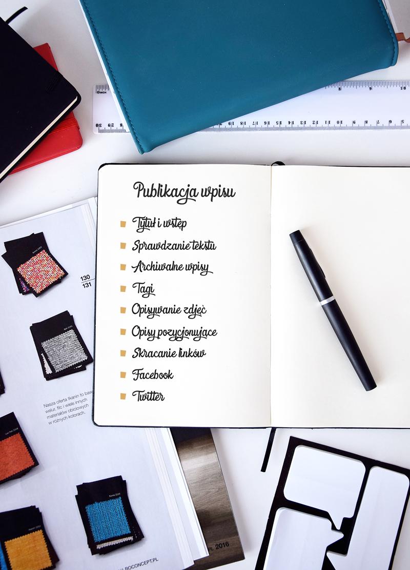 Instrukcja tworzenia wpisu