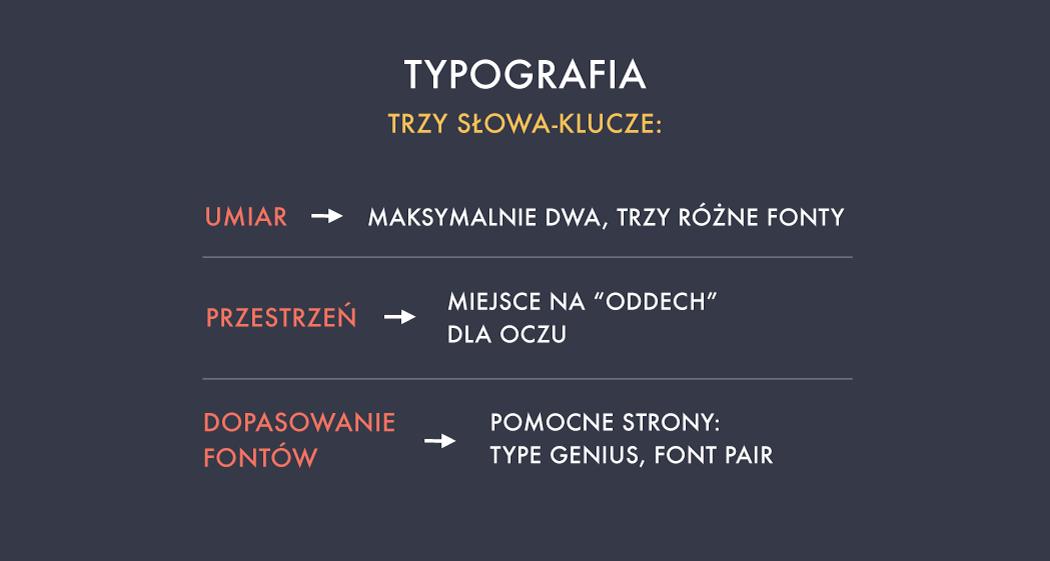 Typografia blog