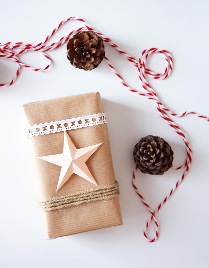 Gwiazdy z papieru DIY