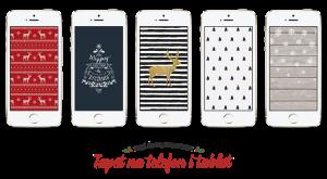 Świąteczne tapety na telefon i tablet