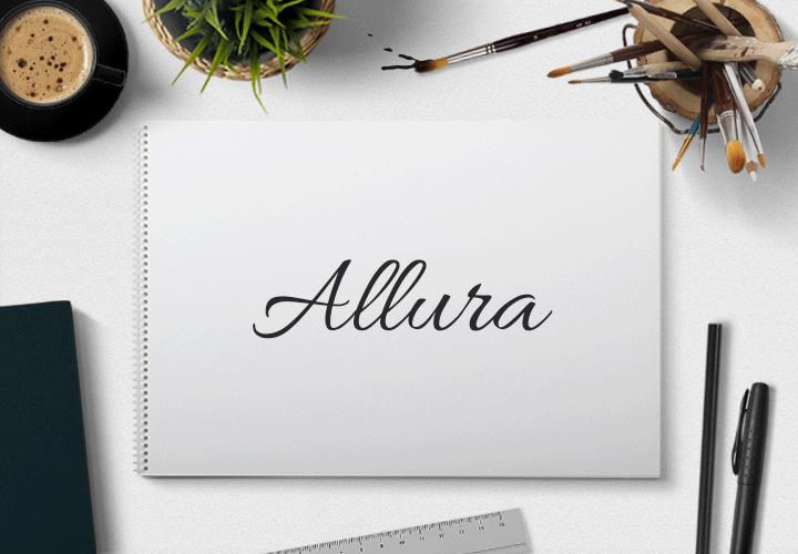 Pisane czcionki fonty