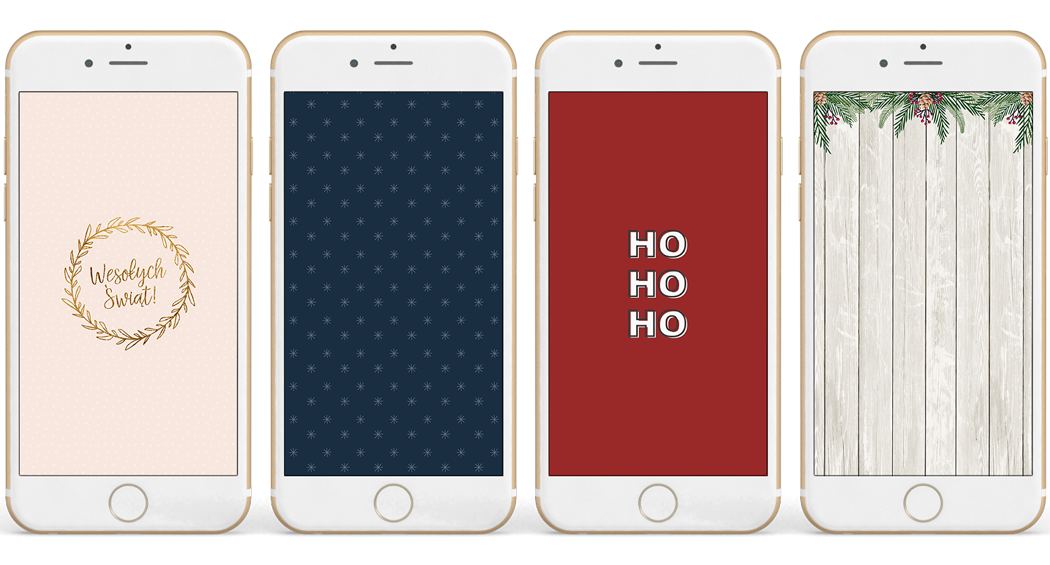 Świąteczne tapety na telefon
