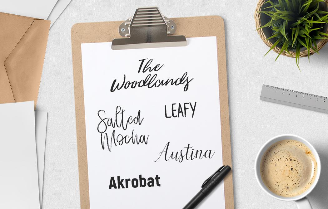 6 nowych, darmowych fontów wartych uwagi