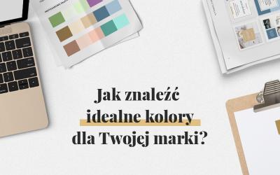 Jak znaleźć idealne kolory dla Twojej marki? + Mini e-book